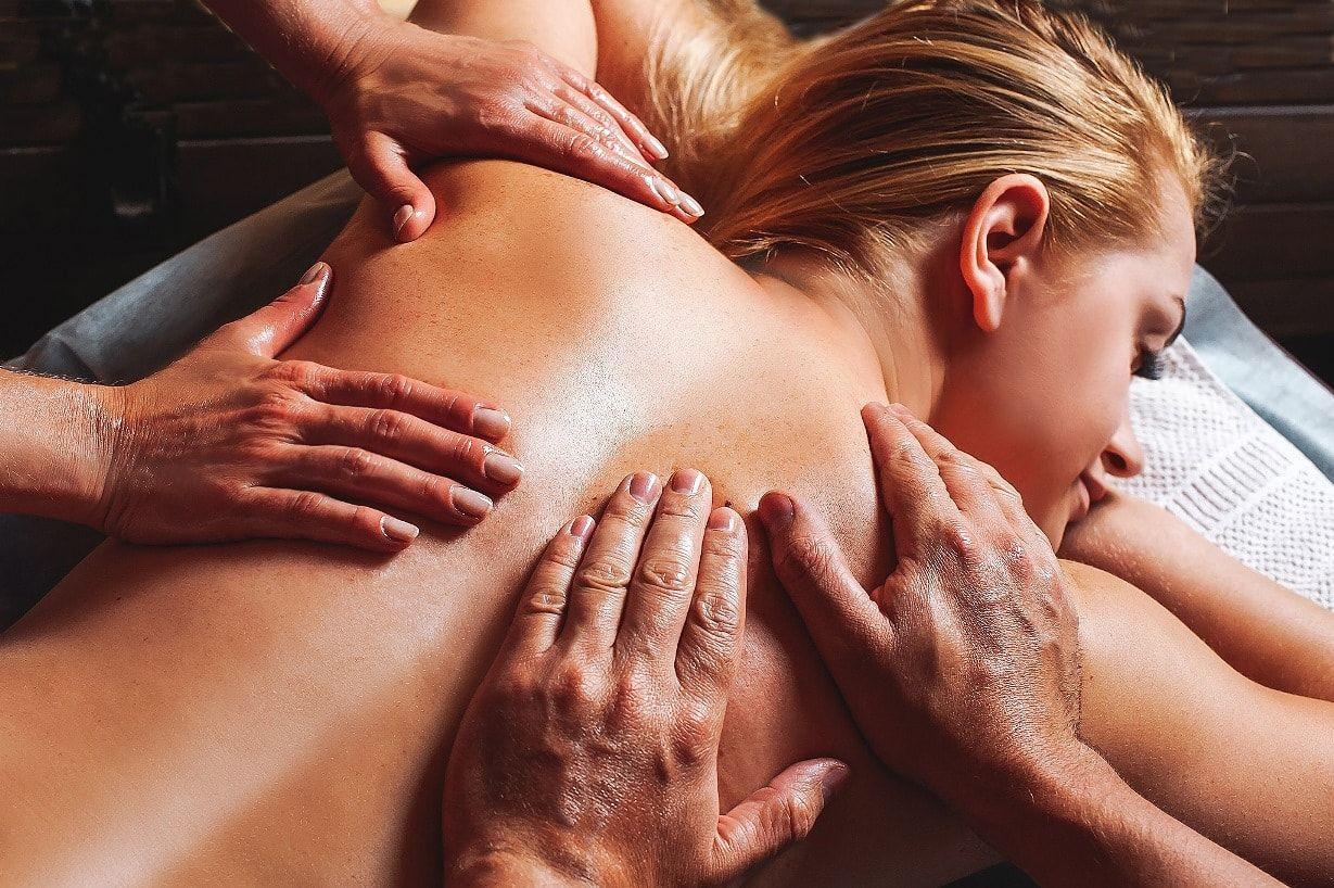 видео массажа эротического урожаем соседей